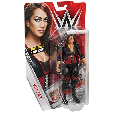 WWE Basic Nia Jax Figure: Toys & Games