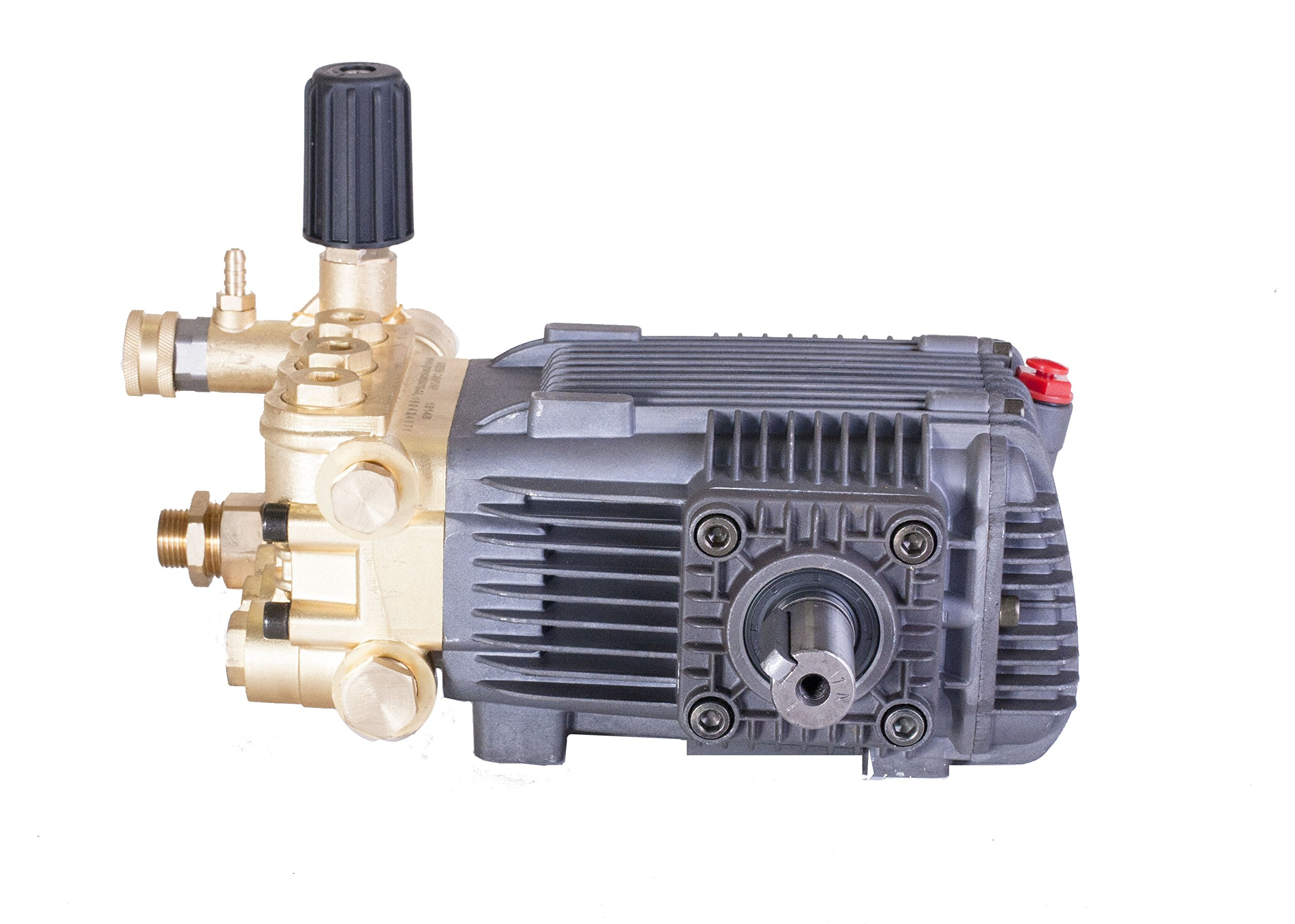 Pressure Power Washer Replacement Pump Solid Shaft 24 mm Belt Drive 3600 PSI by Canpump (Image #3)