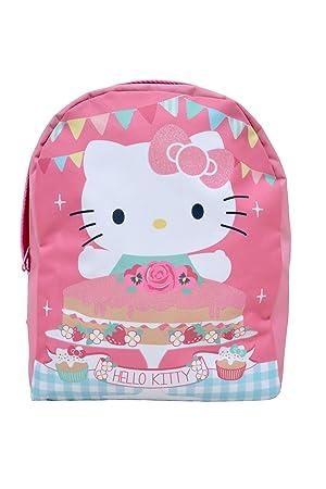 Trendhaus - Mochila escolar Hello Kitty (HKTP8550): Amazon.es: Juguetes y juegos