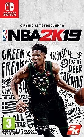 Resultado de imagen de portada NBA 2K19 nintendo switch