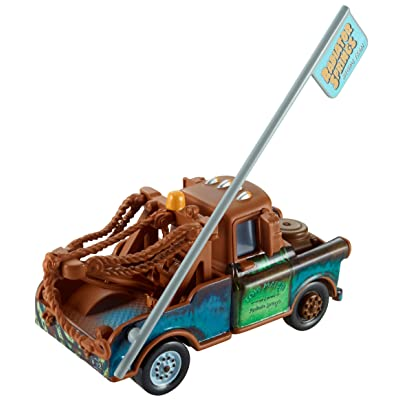 Disney/Pixar Cars Mater with Sign Diecast Vehicle: Toys & Games