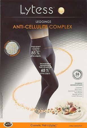 840ae31b47 Lytess Anti-Cellulite Full Length Leggings L XL Black  Amazon.co.uk  Health    Personal Care