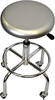 TRINITY Aluminum Work Stool  sc 1 st  Amazon.com & Amazon.com: Seville Classics Stainless Steel Top Work Stool ... islam-shia.org