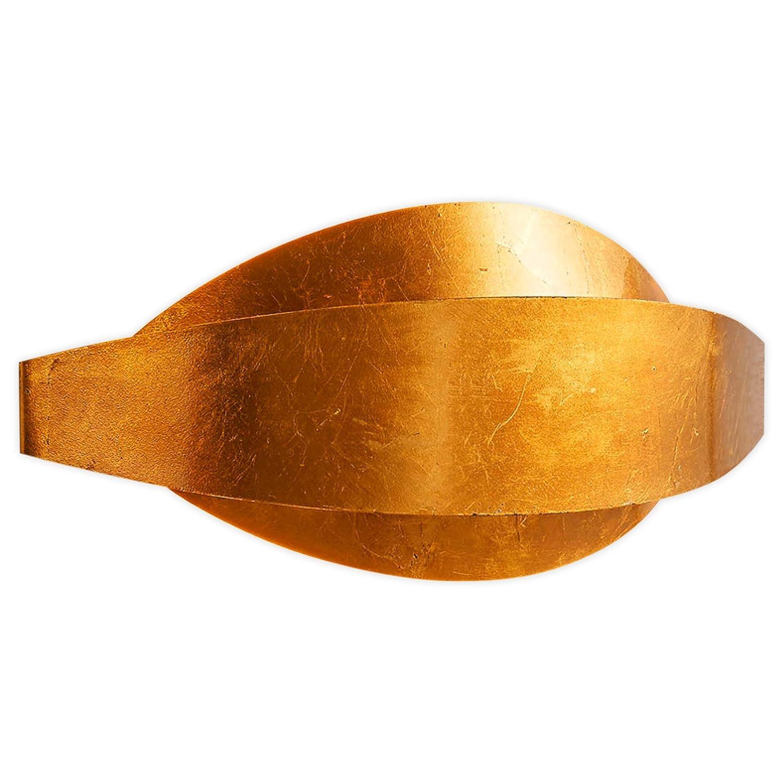 Lampenwelt LED Wandleuchte, Wandlampe Innen 'Jamil' (Modern) in Gold/Messing aus Metall u.a. für Wohnzimmer & Esszimmer (2 flammig, G9, A+, inkl. Leuchtmittel) | Wandstrahler, Wandbeleuchtung