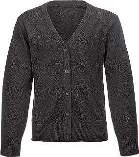 Debenhams Kids Girls Navy Pure Cotton Cable Knit Cardigan