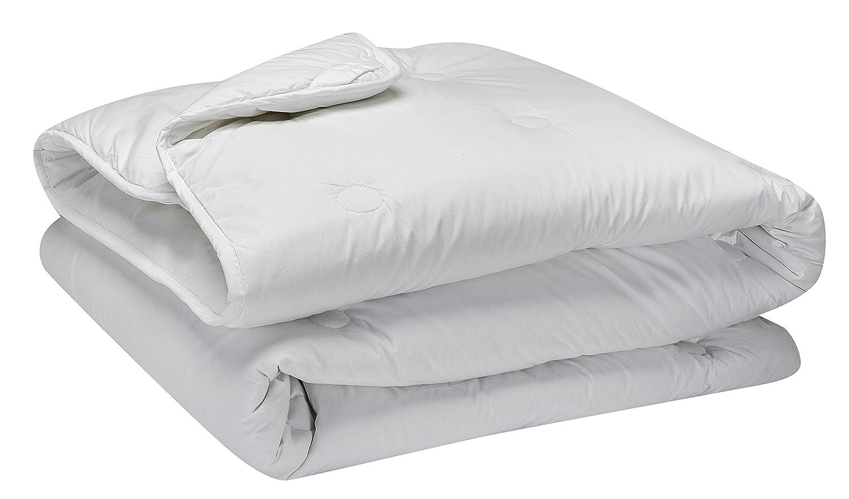 Pikolin Home - Steppdecke   Mikrofaserfüllung, contra-allergen, Perkal 100% Baumwolle, Herbst-Winter, 400 gr m², 155 x 200 cm, Bett 90