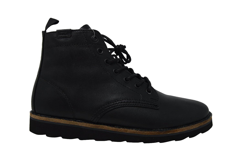 a32db1ca631 Vans Sahara Boots Leather Black 9 D(M) US: Amazon.co.uk: Shoes & Bags