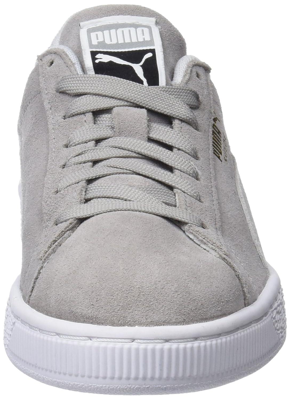 Puma Puma Puma Unisex-Erwachsene Suede Classic Sneaker, Grau (Ash-puma Weiß) 6b5bee