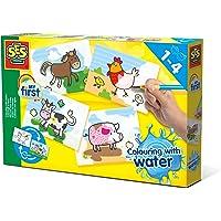 SES Creative My First 14455 Schilderen met water Boerderijdieren