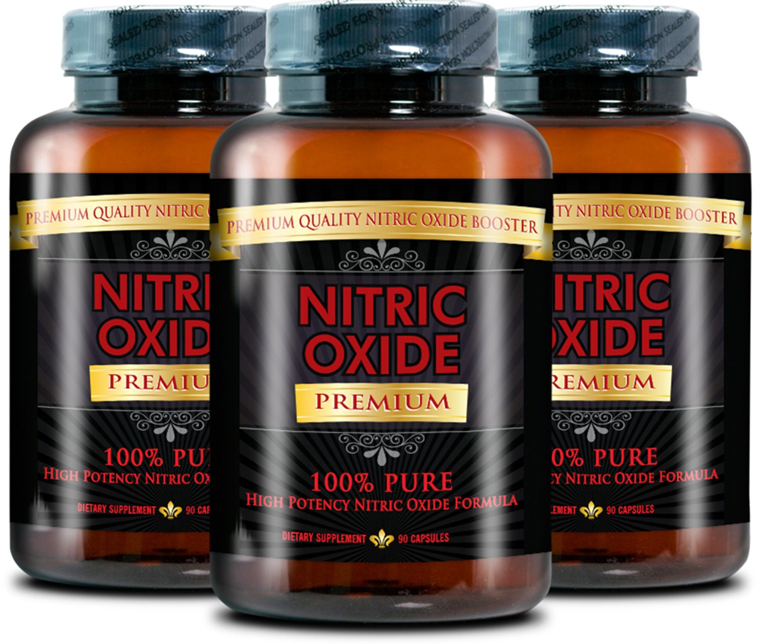 NITRIC OXIDE PREMIUM -#1 Nitric Oxide Supplement on market - with L-Arginine (AAKG) and L-Citrulline - 100% Money Back Guarantee - 3 Month Supply