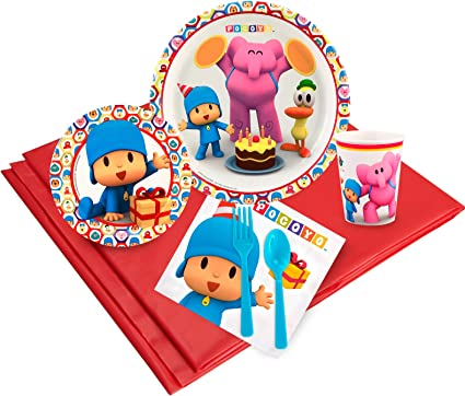 Amazon.com: Pocoyo Pack de Fiesta para 32: Toys & Games