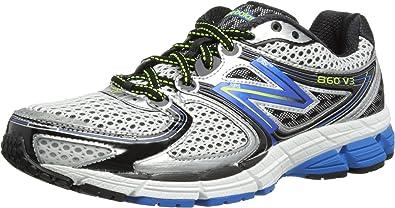 New BalanceM860SB3 - Zapatillas de Running Hombre, Color Plateado, Talla 47: Amazon.es: Zapatos y complementos