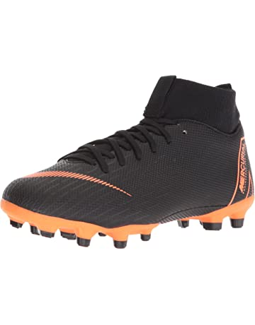 Nike Junior Mercurial Superfly VI Academy MG (Black Total Orange) a9557560ce4bd