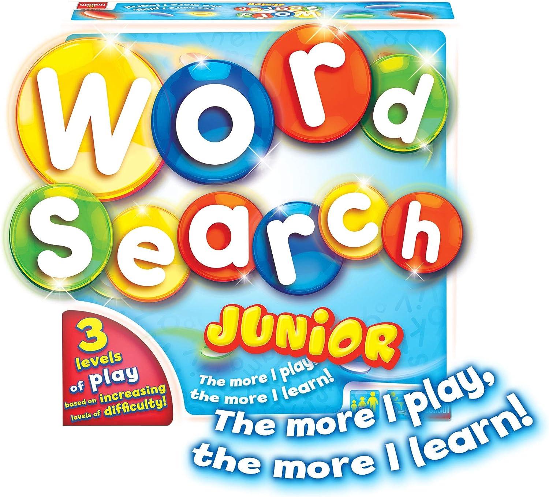 Goliath Games GL60055 WordSearch Junior, Divertido Juego Educativo de Palabras para niños pequeños de 4 años en adelante, Multi: Amazon.es: Juguetes y juegos