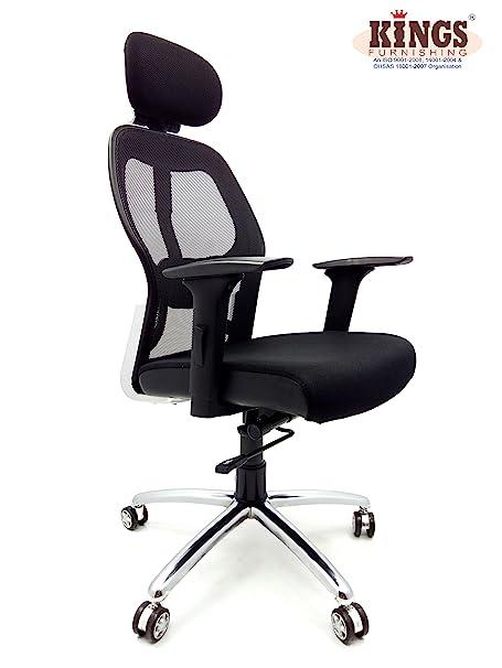 Kings Matrix MAT-01-L High Back Office Chair (Black)