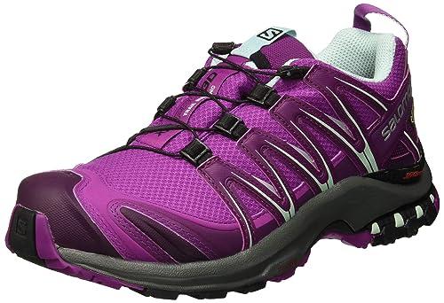 Salomon XA Pro 3D GTX, Calzado de Trail Running, Impermeable para Mujer: Amazon.es: Zapatos y complementos