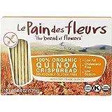 Le Pain des Fleurs Crispbread, Quinoa, 4.4 Ounce