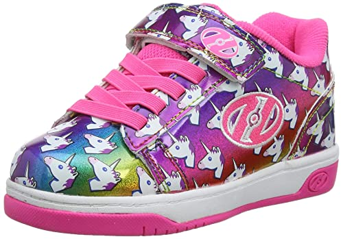 602f1a500379 Heelys Dual Up X2, Sneaker Bambina, Multicolore Rainbow/Unicorn, 31 EU