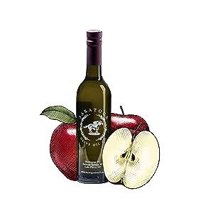 Saratoga Olive Oil Company Red Apple Dark Balsamic Vinegar 375ml (12.7oz)