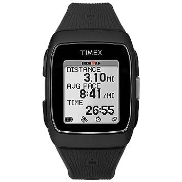 Timex Ironman GPS Correa de Silicona Reloj - TW5M11700, Negro: Amazon.es: Deportes y aire libre
