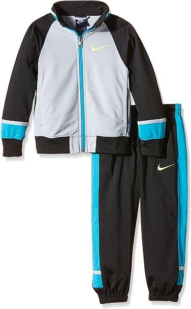 Nike T45 T Cuff Track Suit LK Chándal, Niño, Gris/Negro, 13-15 ...