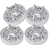 "4pcs 32mm ( 1.25"" ) Hubcentric (66.1 Hub) Wheel Spacers For Nissan Altima Maxima 350z 370z Infiniti G35 G37 Q50"