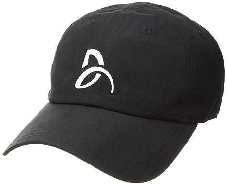 8004355cc4b3 Lacoste Men's Sport Novak Microfiber Tennis Cap, Black, One Size at ...