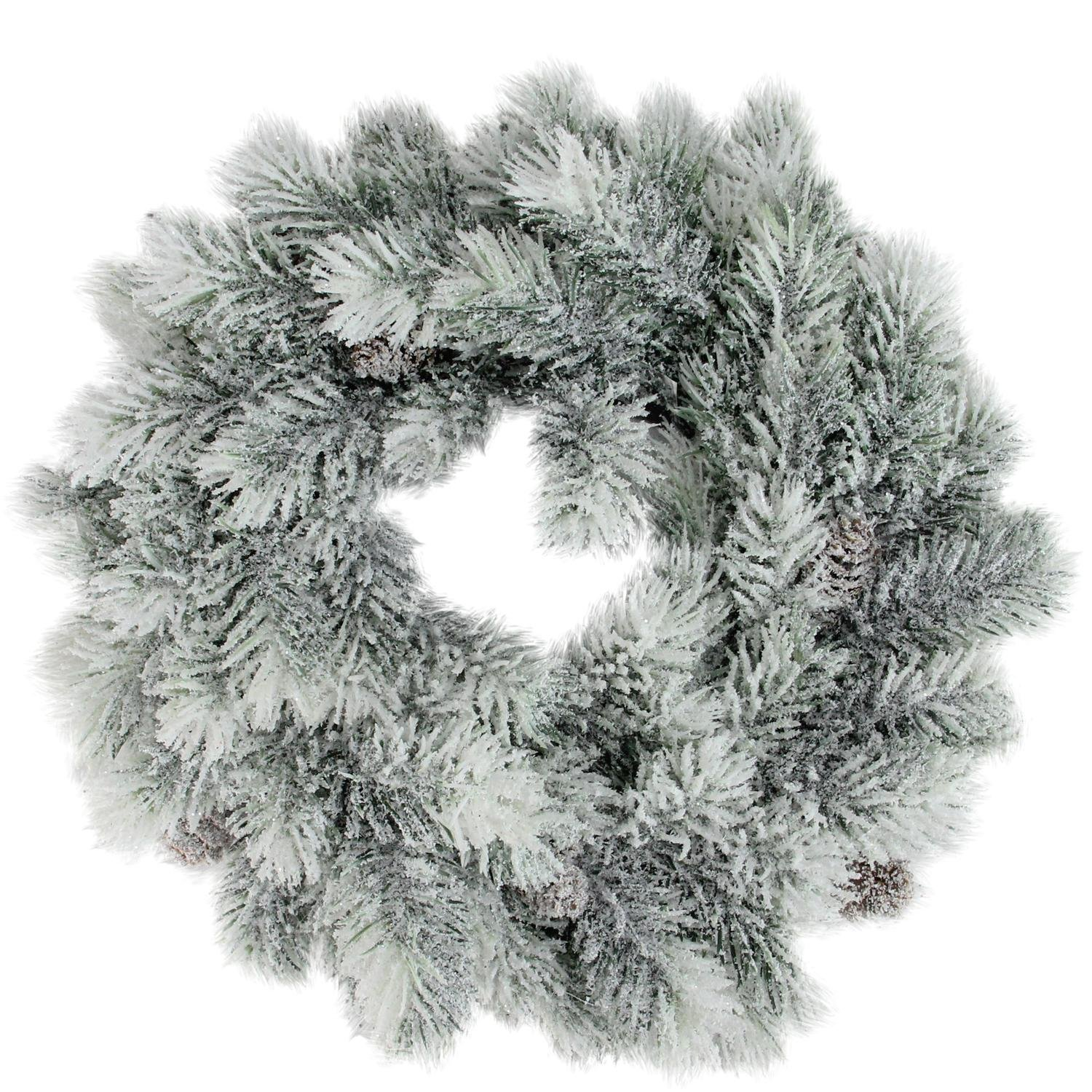 Northlight NL00974 Christmas Wreath with Pine Cones, 12 12