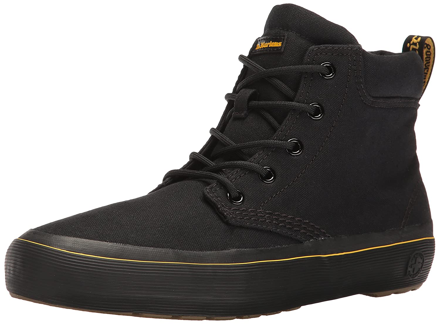 Dr. Martens Women's Allana Chukka Boot B01IE6ZBIC 8 UK/10 B US|Black