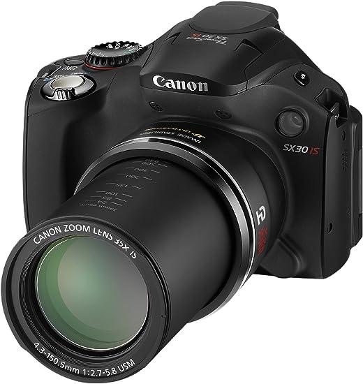 Canon PowerShot SX30 IS - Cámara Digital compacta de 14.1 MP: Amazon.es: Electrónica