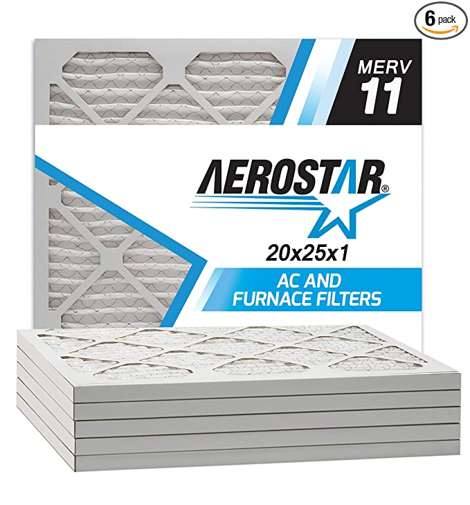 Best furnace filters Size 20x25x1 Inches