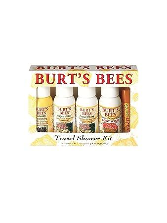 29d291084 Amazon.com   Burt s Bees Travel Shower Kit   Bath And Shower Gels ...