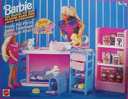 Amazon.com: Barbie mucho para hacer. Bonito Mascota Parlour ...