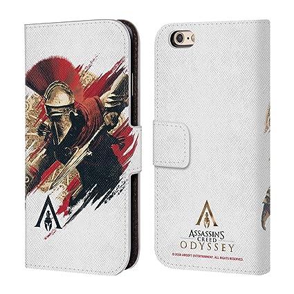 Amazon.com: Assassins Creed Odyssey - Funda de piel para ...