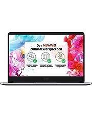 Huawei Matebook D Ryzen 5 2500U 35,56 cm (14 Zoll Full-HD) Notebook (256GB SSD, 8GB RAM, AMD Radeon Vega 8 Graphics, Windows 10 Home) grau