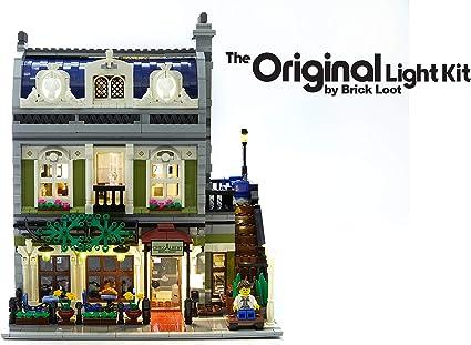 New LED Light Kit ONLY For Lego 10243 Parisian Restaurant Lighting Bricks
