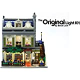 Brick Loot Lighting Kit for Your Lego Parisian Restaurant Set 10243 (Lego Set NOT Included)