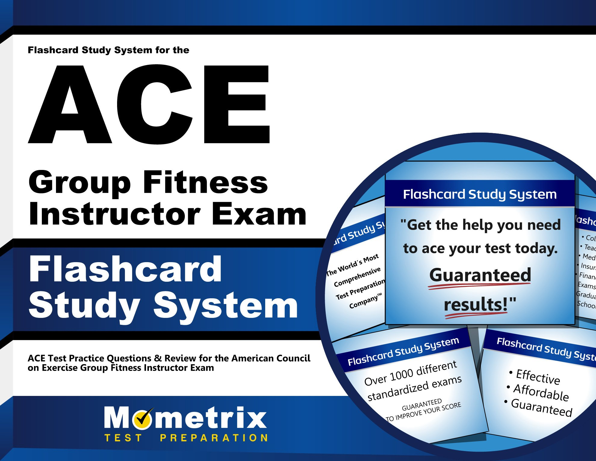 Amazon Buy Flashcard Study System For The Ace Group Fitness