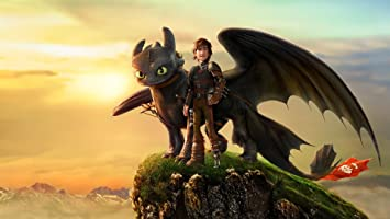 Posterhouzz Movie How To Train Your Dragon 2 Toothless Hiccup Hd Wallpaper Background Fine Art Paper Print Poster Mov1197 Amazon In Home Kitchen