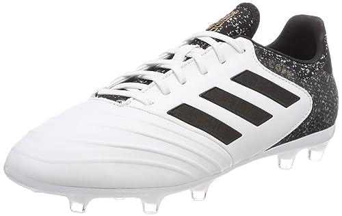 Adidas Copa 18.2 FG, Botas de Fútbol para Hombre, Blanco (Ftwbla/Negbas/Ormetr 000), 40 2/3 EU adidas