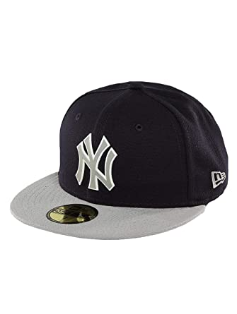 New Era Mujeres Gorras / Gorra plana Team Rubber Logo NY Yankees ...