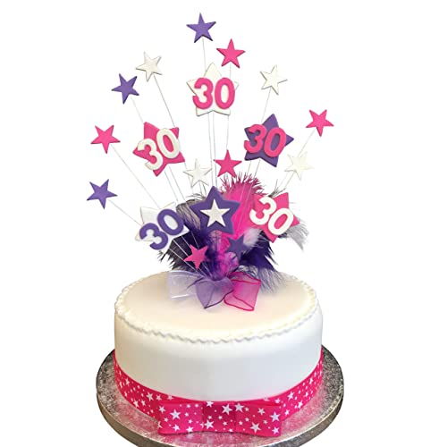 30th Birthday Cake Topper Amazon Co Uk