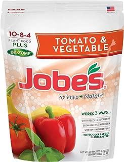 product image for Jobe's Granular Vegetable & Tomato Fertilizer, Science + Nature Fertilizer with Biozome, 6 pound bag