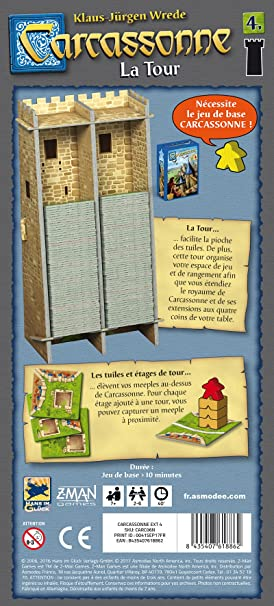 Asmodee - Carcassonne: Amazon.es: Juguetes y juegos