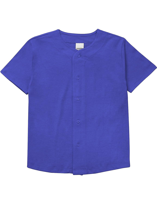 メンズ ベースボール ボタンタウン ジャージ ヒップスター ヒップホップ Tシャツ 1UPA01 B071Y7JTDV L|Kid_blue Kid_blue L