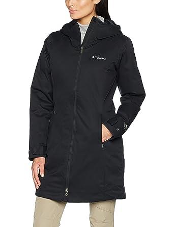 61e8ffd7d6690a Columbia Wasserdichte Winterjacke für Damen, Autumn Rise Mid Jacket,  Polyester, Schwarz, Gr