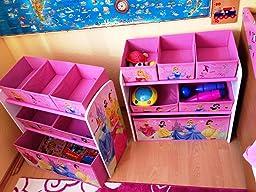 spielzeugregal standregal aufbewahrungsregal 6 boxen mit motivauswahl winnie the pooh. Black Bedroom Furniture Sets. Home Design Ideas