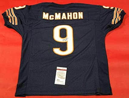 8017c00925f Image Unavailable. Image not available for. Color: JIM McMAHON AUTOGRAPHED  CHICAGO BEARS JERSEY JSA