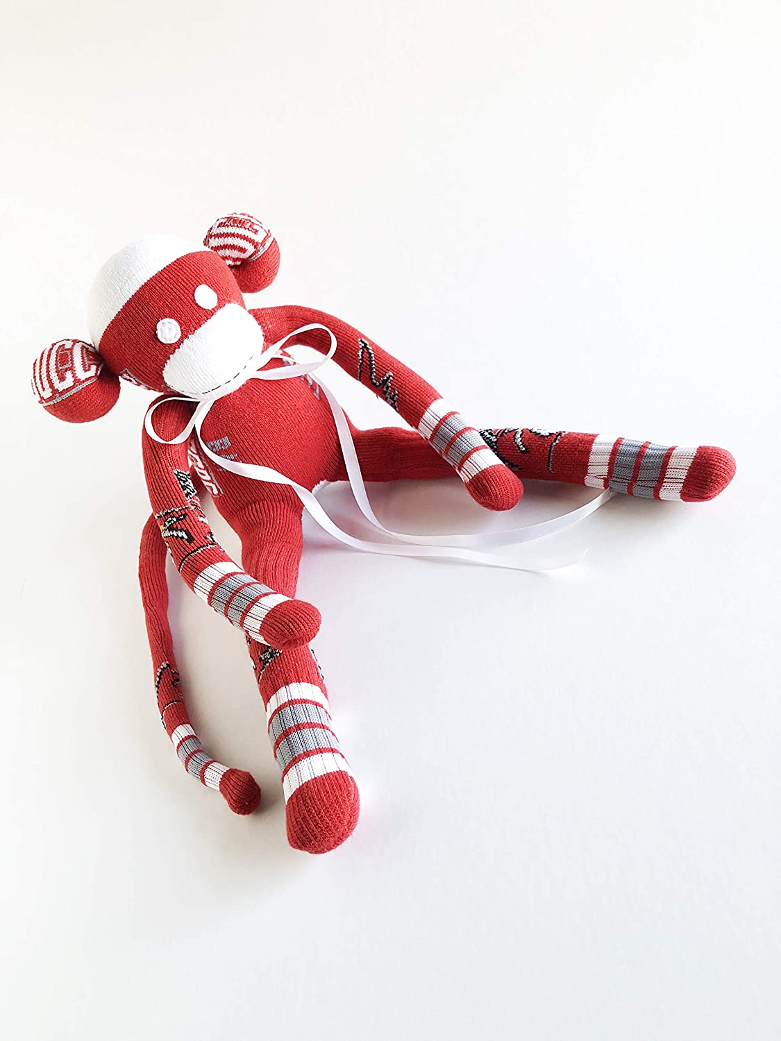 Tampa Bay Buccaneers Themed- Sock Monkey - National Football Conference - Football Sock Monkey - Red Sock Monkey - Buccaneers Sock Monkey