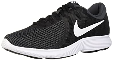 085df1d3e3ba Nike Men s Revolution 4 Black White-Anthracite Running Shoes-10 UK India